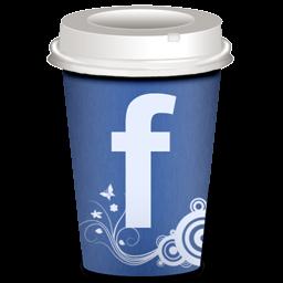 Facebook Icon Coffee