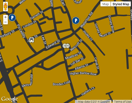 Higgins Miller Interactive Google Map