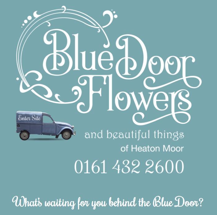 design agency manchester bluedoor flowers opening