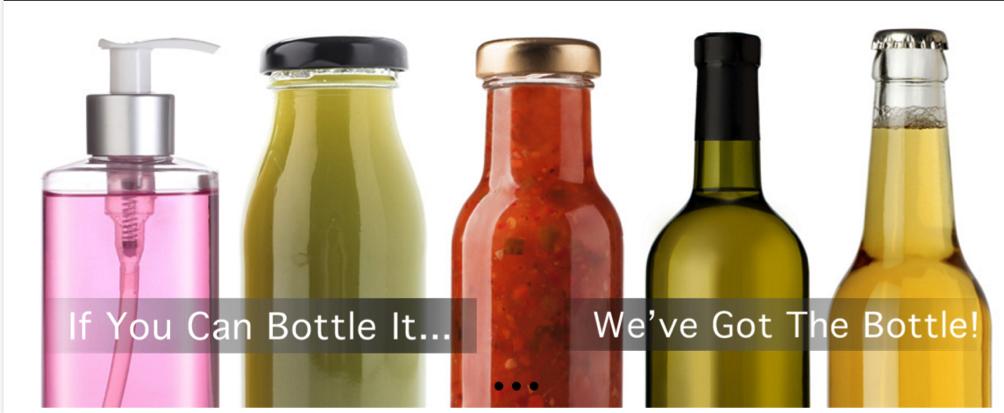 Web design company Bottle banner
