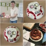 AsOne Bake Off 'Brian' Day of the Dead Cake