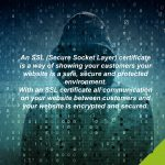 Deter hackers with an SSL certificate