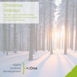 AsOne Christmas Opening Hours