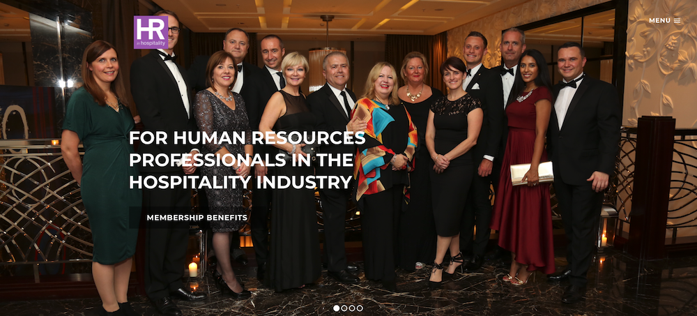 HR In Hospitality - A Brand New Website For A Human